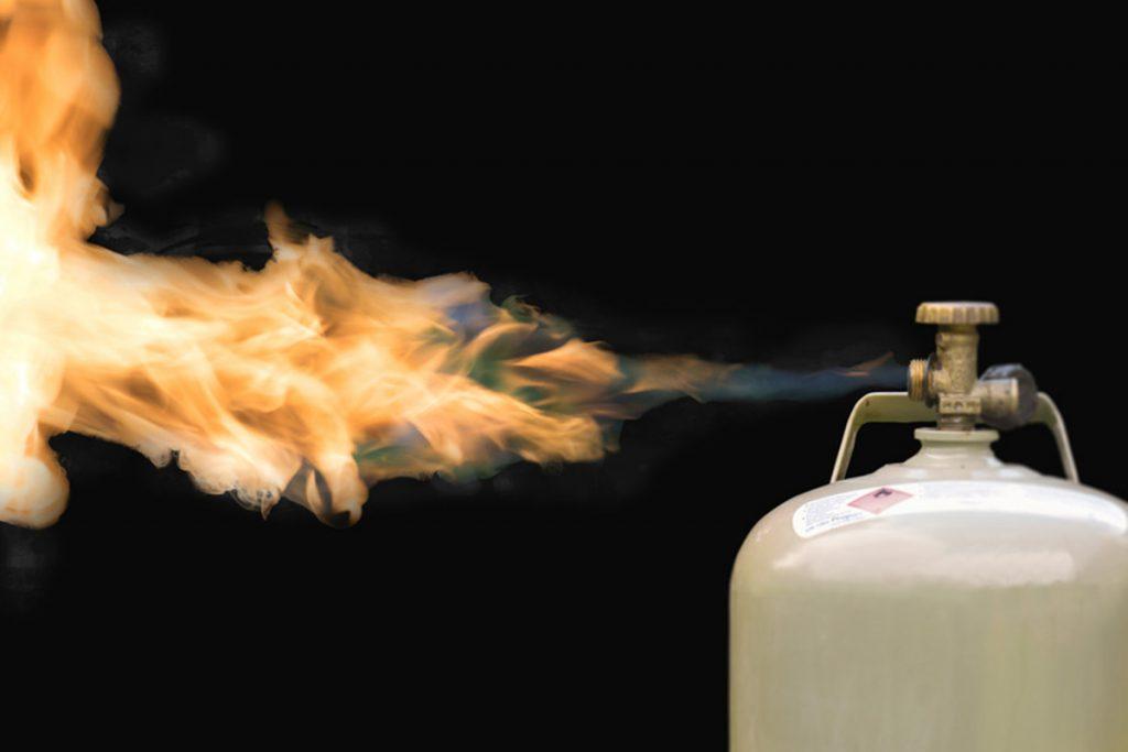Prüfe schnell die Gasfüllmenge Deiner Gasflasche