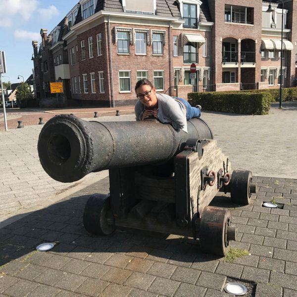 Zerikzee Kanone 600x600 - Warum Ginsterveld? Renesse einfach entspannt erleben